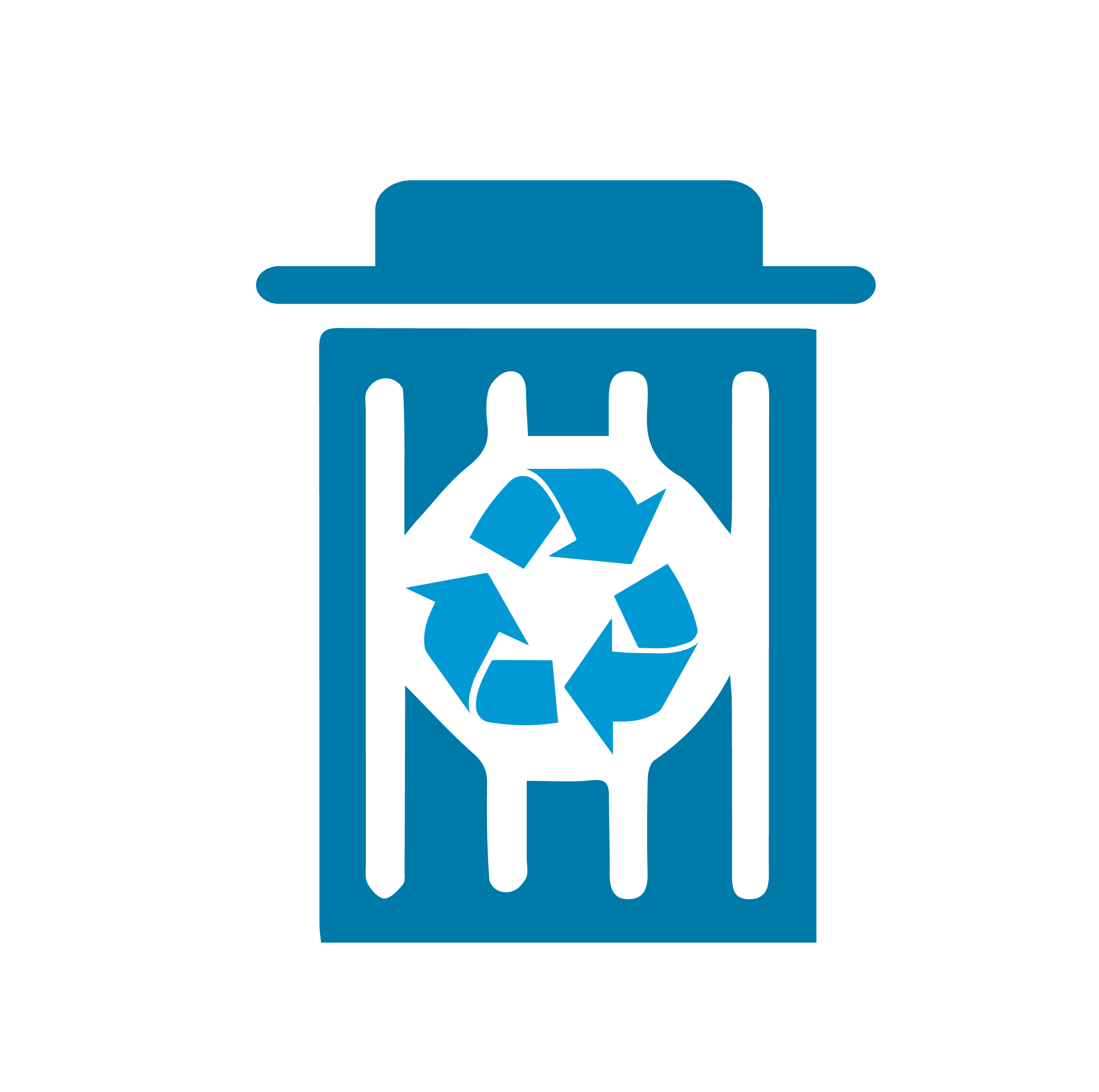 reducing waste icon